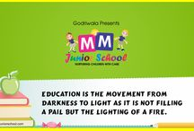 Play school / MM Junior School, one of the best kid schools in Raipur where you will get the world class, modern and responsive education system.