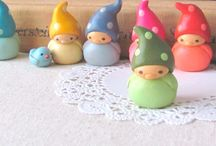 Polymer clay cuties