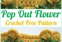 pop out flower stitch