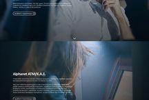 Fintech webdesign