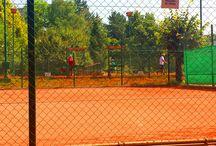 Pionir tennis court in Belgrade / Pionir tennis court is most famous cort in Belgrade located near Pionir hall in the Belgrade's municipality of Palilula.