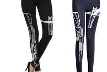 3D fashion women legging