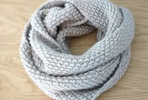 Snood femme point de riz