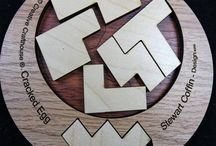 Top 2D Packing and Assembly Wooden Puzzles