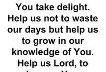 Morning pray