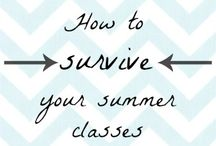 Surviving Summer Classes