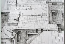 drawing / зарисовки, рисунок, эскизы - карандаш, тушь, фломастер, маркер