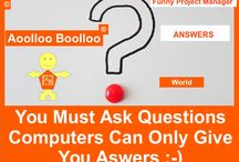 Aoolloo Boolloo Answers