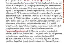 Conseils diétėtiques - Διαιτητικές συμβουλες