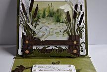 zelfgemaakte kaarten http://vanlaarmarja.blogspot.nl/