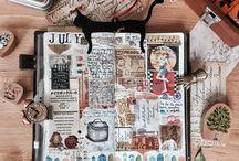 Scrapbooks/Sketchbooks/Planners