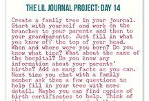 journaling / by Johanna Valenzuela