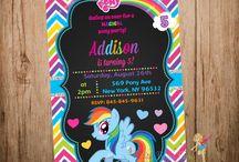 Rainbow Dash Party Ideas