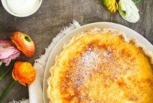 Zitronen Buttermilch Tarte