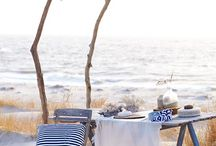 Beach Picnic Spots / A litte dreamy spot to wind down and enjoy the #SaltieLife