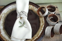 Table setting / ideas ⚫ place setting ⚫ inspiration