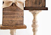 crafts - wood