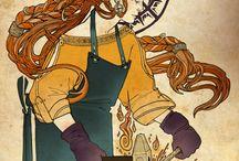 Celtic goddess