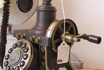Old phones & phone chair's / by Fleur McMullin