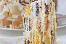 Еда торты