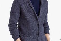 мужская вязанная мода