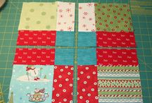 "Baby cot quilt 5""  by 99 squares"