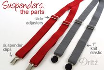 how to make suspenders