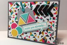 Stampin' Up!® - Geometrical / by Rochelle Blok, Independent Stampin'  Up! Demonstrator