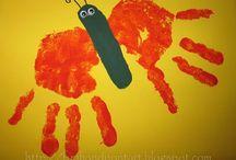 kids [ hand / foot / fingerprint art ]