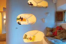 Kid's room -stanza dei bimbi / Ispirazione per arredare la cameretta dei bimbi Kids room ideas