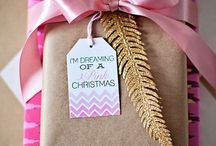 Sparkling Christmas / Confezioni regalo, carta pacchi, fiocchi
