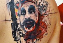 Clown Tattoo
