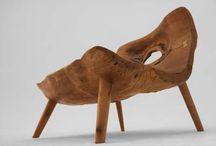 přírodní dřevo a umění