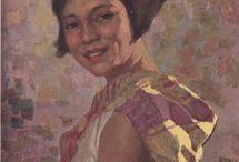 Paintings of Philippine Women
