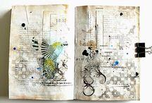 Art Journaling Birds