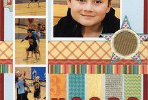 Sports layouts / by Carolyn Dalton