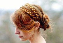 Upstyles, Braids and Styled hair / Occasion Hair