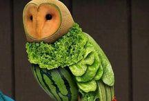 Food Art / by Sandy Cordes Nelson