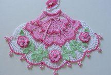 Crochet, doilies. ect