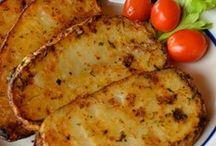 grilled bake potatoes
