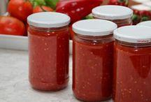 Kışlık domates püresi