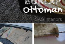 Stool, ottoman