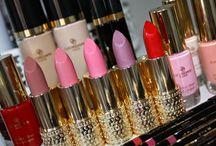 lipstick, parels, oogschaduw, wonderpotjes