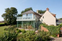 Suffolk Private Residence - Case Study / Vertical Structural Glazing & Schuco Sliding Doors were used in this Private Residence in the Suffolk countryside.