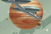 Inspiration: Retro Futur ! / Science fiction, anticipation: un futur qui n'existera pas / a futur that will not exist !