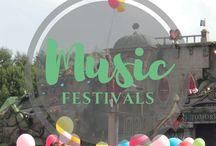 Road Trip to Music Festivals
