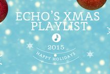 Echo at Christmas / Here it is – our must-have holiday PINS for all our our December activities- baking, cooking, drinks! (read: deadlines, eggnog).  Have yourself a merry little Christmas. Love, Echo.