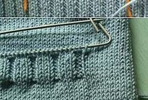 Карман вязание