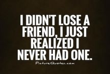 Fake friend qoutes
