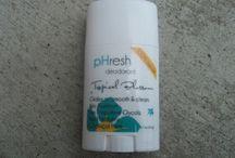Phresh / All natural, aluminum free deodorant